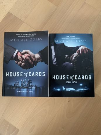 """House of Cards"" cz. I i II. Michael Dobbs. Komplet."