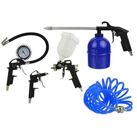 Kit Conjunto de Ar Comprimido Para Compressores 5 Peças (Com Iva)