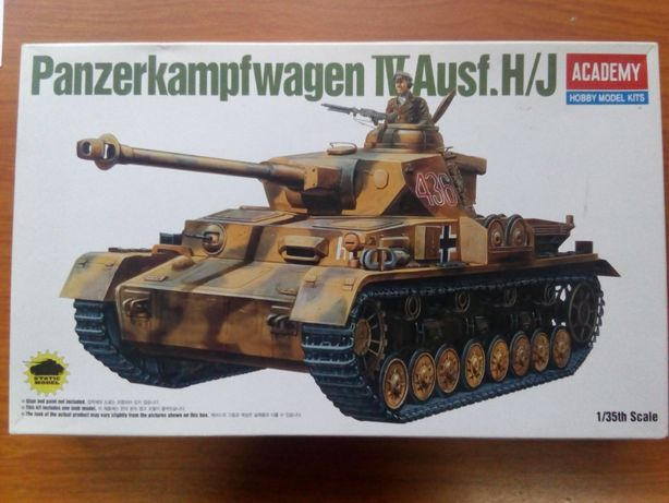 Model Plastikowy Panzerkampfwagen IV Ausf.H/J (1/35) Academy wysyłka