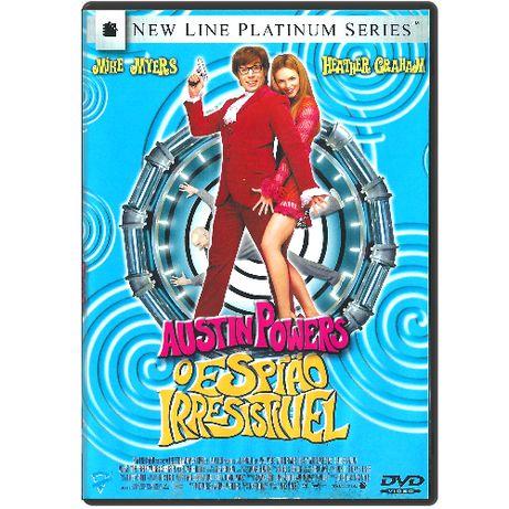 DVD - Austin Powers - O Espião Irresistível - FILME