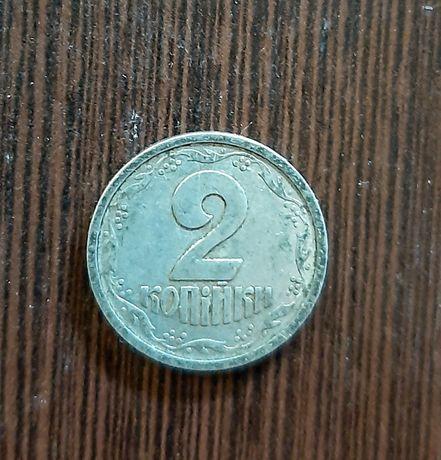 Монета 2 копейки 1994 года Украина