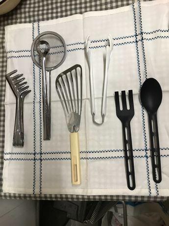 6 utensílios de cozinha