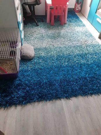 Markowy dywan 3x2m odcienie niebieskiego