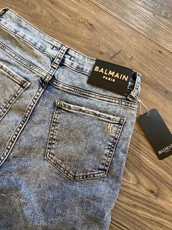 Spodnie damskie wysoki stan Balmain
