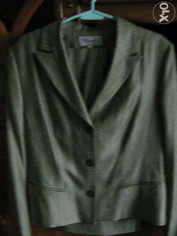 Żakiet damski ze spodniami -komplet roz 42