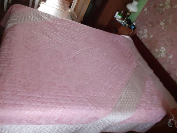 Кровать 2-х спальняя с тумбочками