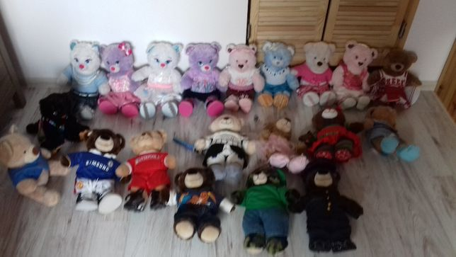 miś maskotka Miś Build A Bear Anna, Elsa, kotek, królik i inne