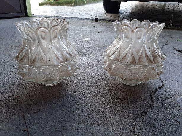 Conjunto de 2 abajur de vidro