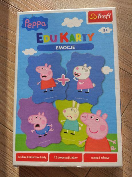 Edukarty Peppa Pig gra karciana