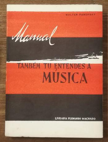 manual também tu entendes a música, walter panofsky