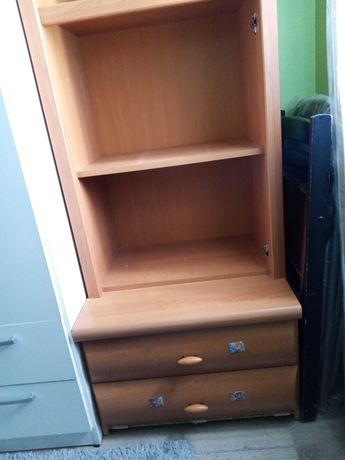 Regał półka szuflady
