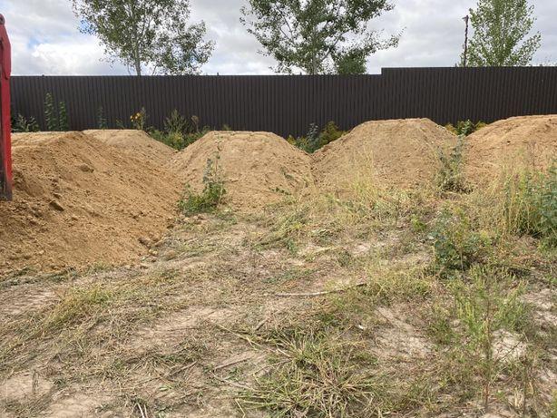 Подсыпка песчаная, подсипка глинистая, земля, грунт