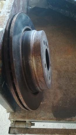 Disco de travão +calços eixo traseiro BMW E91