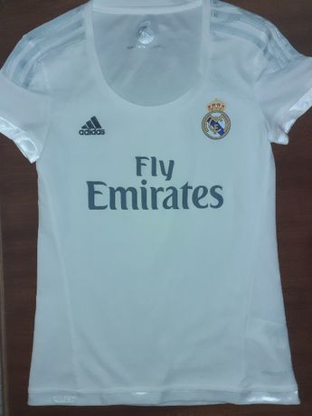 Женская футболка Adidas Real Madrid (Реал) (Размер XS)
