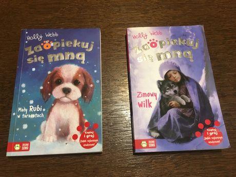 Zaopiekuj się mną 2 książki stan idealny