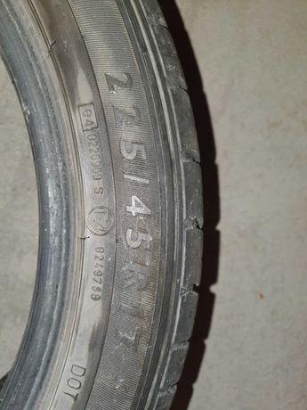 Opony używane Dunlop 225/45/17