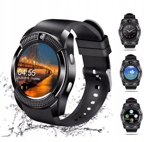 Smartwatch V8 Bluetooth Slot Sim Slot MicroSD