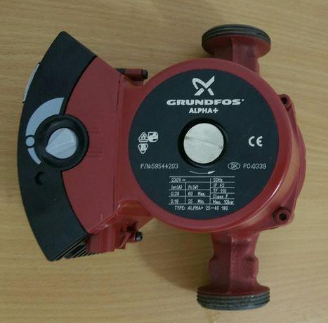 Nowa pompa obiegowa Grundfos Alpha+ 25-40/180