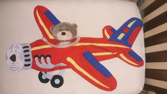 Самолет сумка карман для пижамы игрушки на стену кроватку щенячий