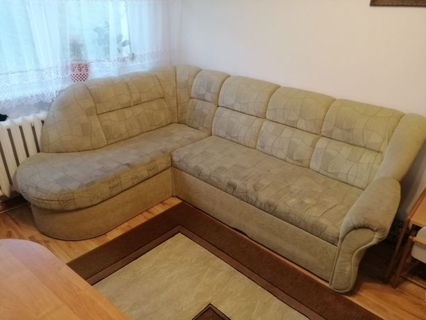 Sprzedam Narożnik pilne kanapa z funkcją spania kanapa łóżko narożnik