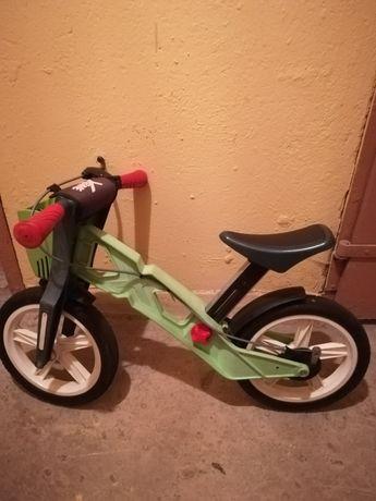 Rowerek biegowy  z hamulcem