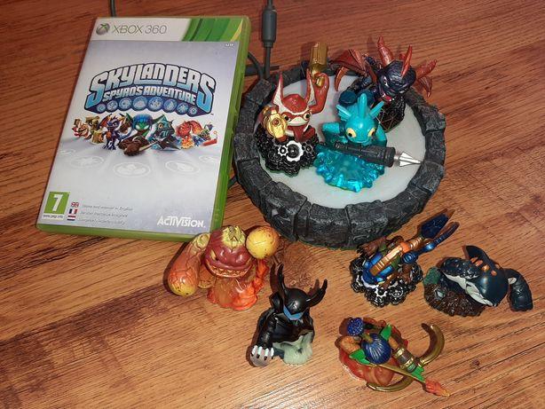 Skylanders spyro's adventure xbox 360 8 figurek