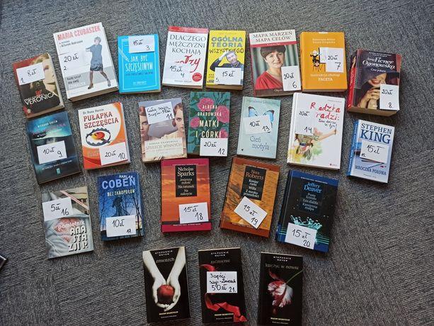 Książki - zestaw 21 książek