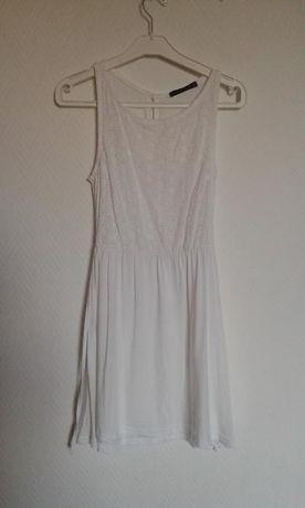 Biała sukienka koronka atmosphere primark 34 xs
