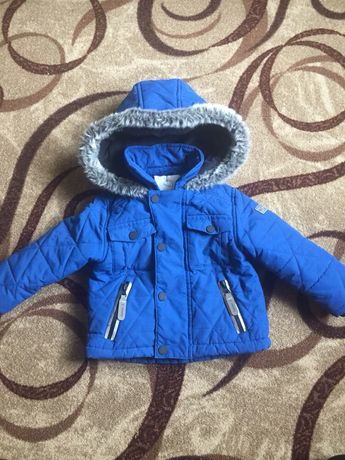Термо куртка на мальчика 12-18 мес.