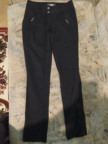 Брюки женские, брюки с завышенной посадкой, черные брюки