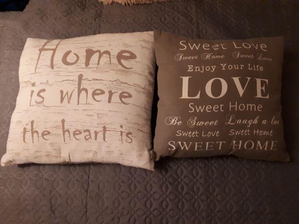 2 poduszki ozdobne