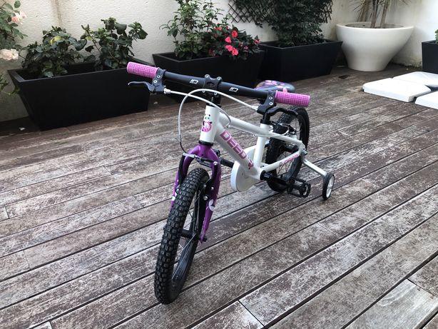 "Bicicleta Deed 16"" (3-6anos) menina"