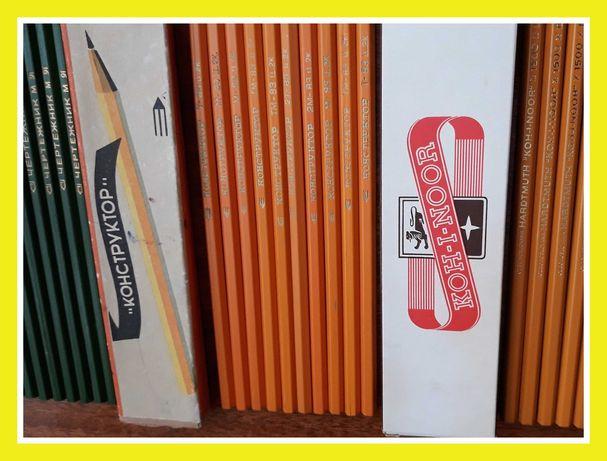 Набор карандашей графитных Кохинор СССР карандаши