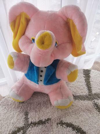 Мягкая игрушка Слон розовый