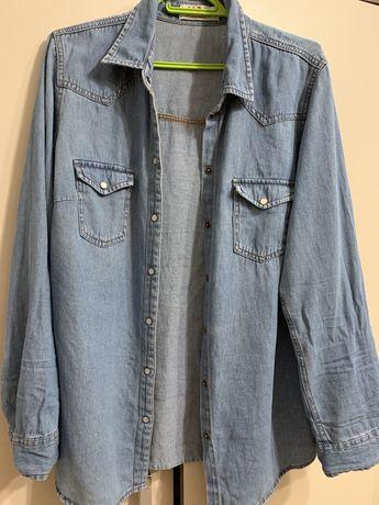 jasno jeansowa koszula roz. L/XL