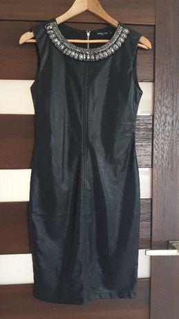 Sukienka - imitacja skóry