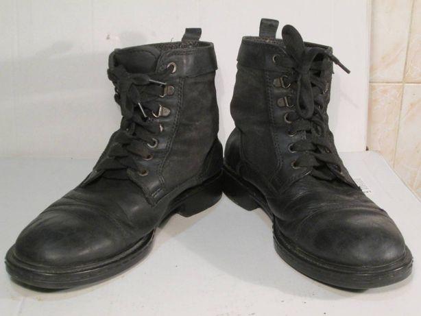 Ботинки берцы мужские кожа 42 размер