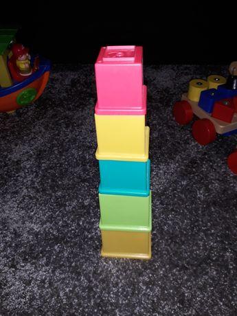 Piramida kubki zabawka