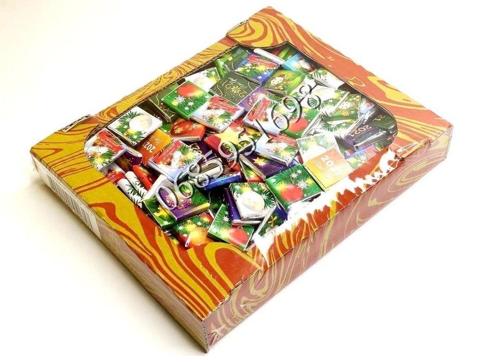 Новогодний шоколад Шоколадный Бык Новогодний Бык 2021 Подарки Карамель Звенигородка - изображение 1