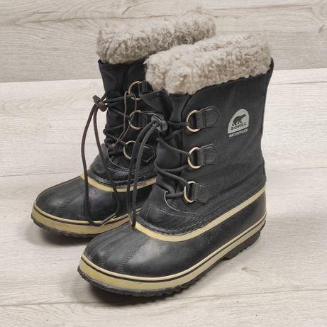 Sorel женские ботинки с валенком непромокаемые 37 р