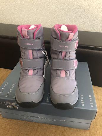 Ботинки для девочки Geox 34 размер