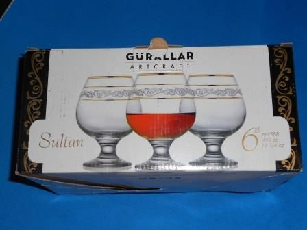 Бокалы для вина Sultan, набор 6 шт