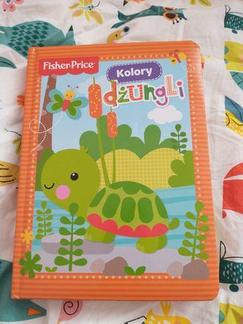 Książka Fisher Price Kolory dżungli