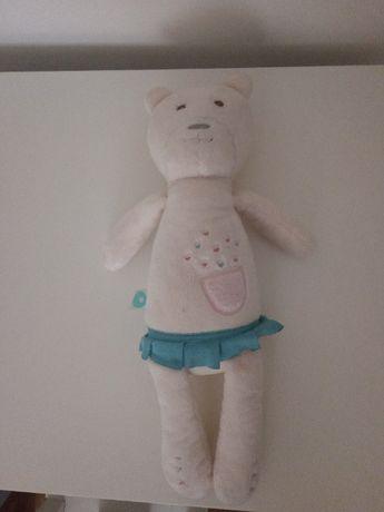 Miś Szumiś dla niemowląt - kolor biały