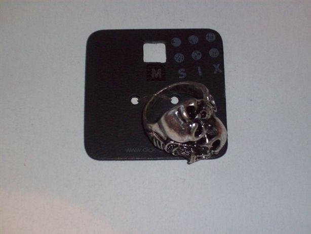 Pierścień czaszka, sygnet, rozmiar M