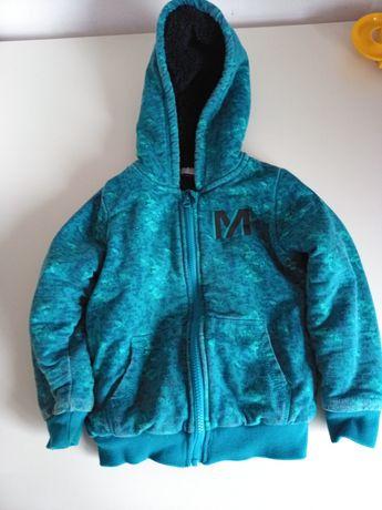 Bluza kurtko-bluza kurtkobluza lupilu z Lidla 110/116 polar