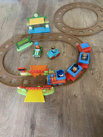 Детская игрушечная железная дорога, поез рельсы ELC, happyland