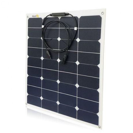 Panel słoneczny elastyczny SOLAR 60W kamper przyczepa kempingowa jacht