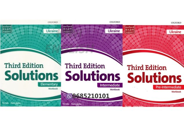 Solutions Third Edition. (Edition for Ukraine)