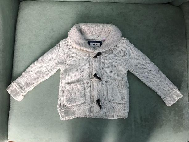 Zara Кофта свитер кардиган унисекс для мальчика для девочки